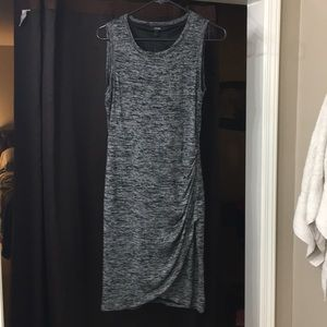 NWT APT 9 gray and black dress